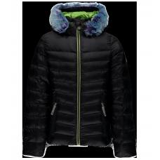 Kyd's Timeless Hoody Faux Fur Down Jacket