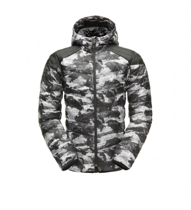 Men's Geared Hoody Synth Down Jacket